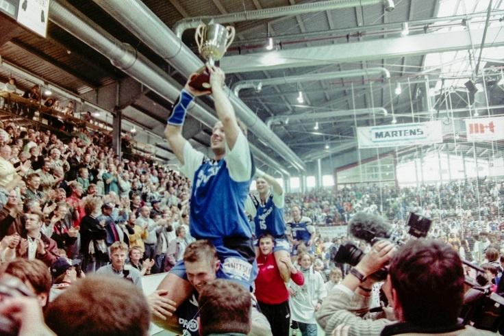 Gewinn des EHF-Pokals 1997